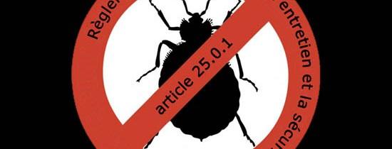 Modifications à l'article 25.0.1 (sur les punaises de lit)