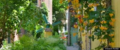 15 ruelles vertes de Montréal en photos sur Le Huffington Post Québec