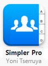 simpler pro pour iPhone