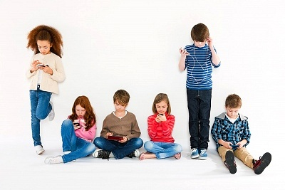 Children-Using-Different-Gadgets