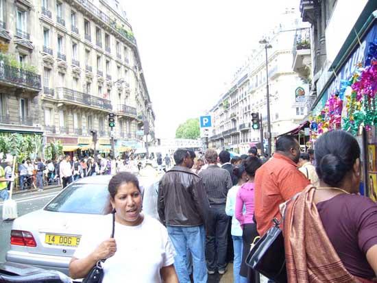 rue du Faubourg St-Denis