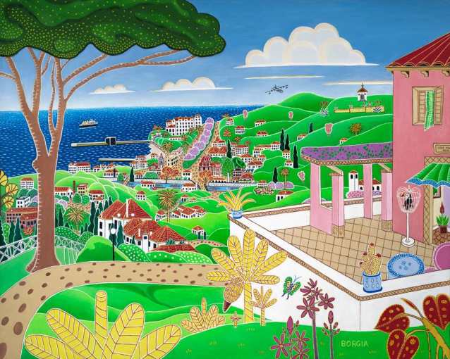 Funchal, 48 x 60 inches