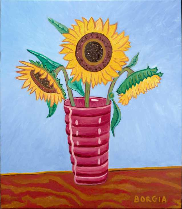 Sunflowers, 30 x 26 inches