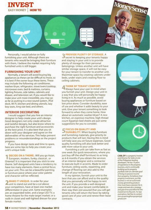 MoneySense Dec 2012 page2