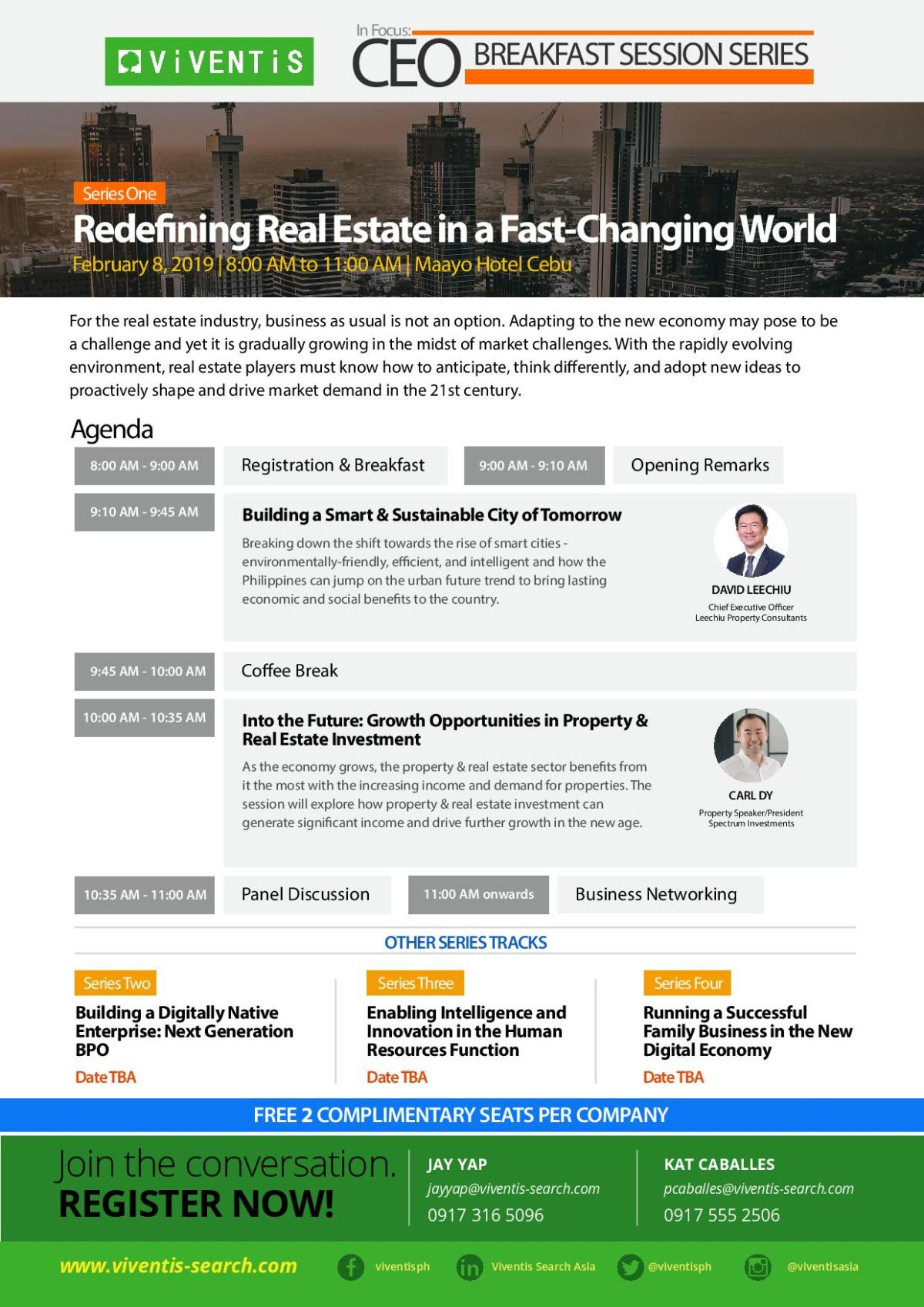 in focus session, redefining real estate in a fast-changing world property guru carl dy spectrum philippines property david leechiu 1