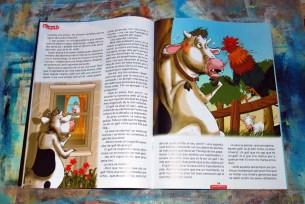 Revista Cavall Fort Text: Jaume Cela / Il·lustracions: Carles Arbat