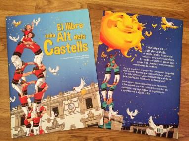 El llibre més Alt dels Castells de Brau edicions. Text: Raquel Sans, Francisco Montoya / Il·lustracins: Carles Arbat