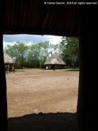 Viviendas Luo en el Kisumu Museum