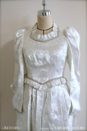 リメイクドレス お母様 オーダードレス クラシカルドレス レトロ ヴィンテージドレス