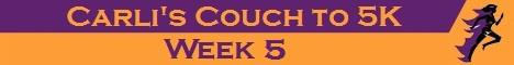 Couch to 5K Week 5