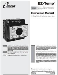 90224 24VAC Temperature Control – Carlin Combustion Technology, Inc