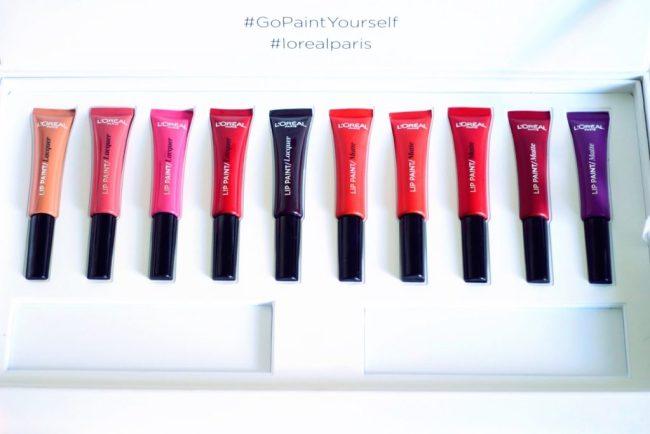 lip paint lacquer matte l'oréal mention assez bien