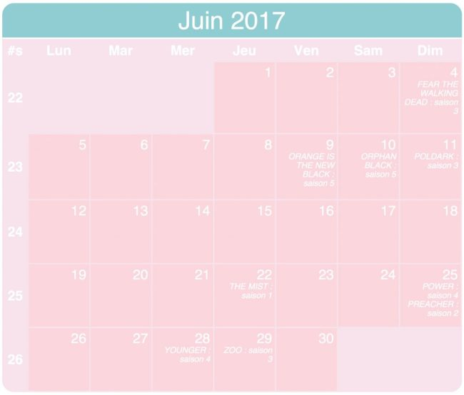date reprise series 2017 planning
