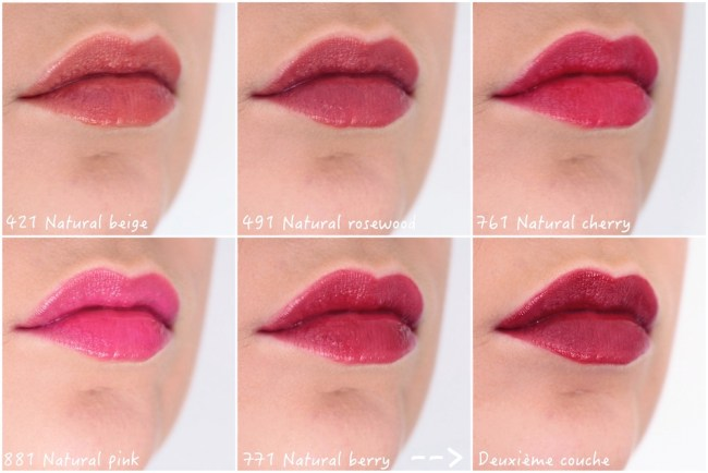 lip tattoo dior avis test swatch