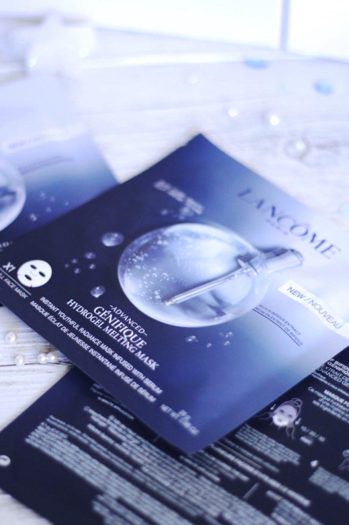 masque hydro gel advanced genifique Lancôme avis