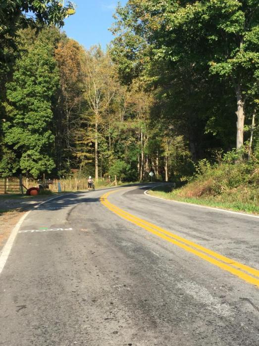 The Failed Fondo meant walking bikes uphill