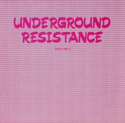 COVER-UNDERGROUND RESISTANCE-1987