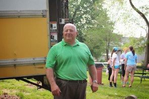 Lee Snyder organized all of the food for the event!