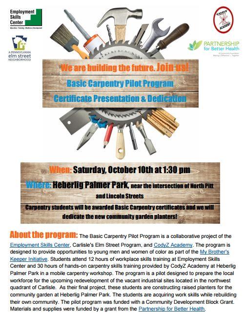 HPcarpentry invite