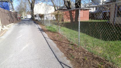 Lincoln Ave-before