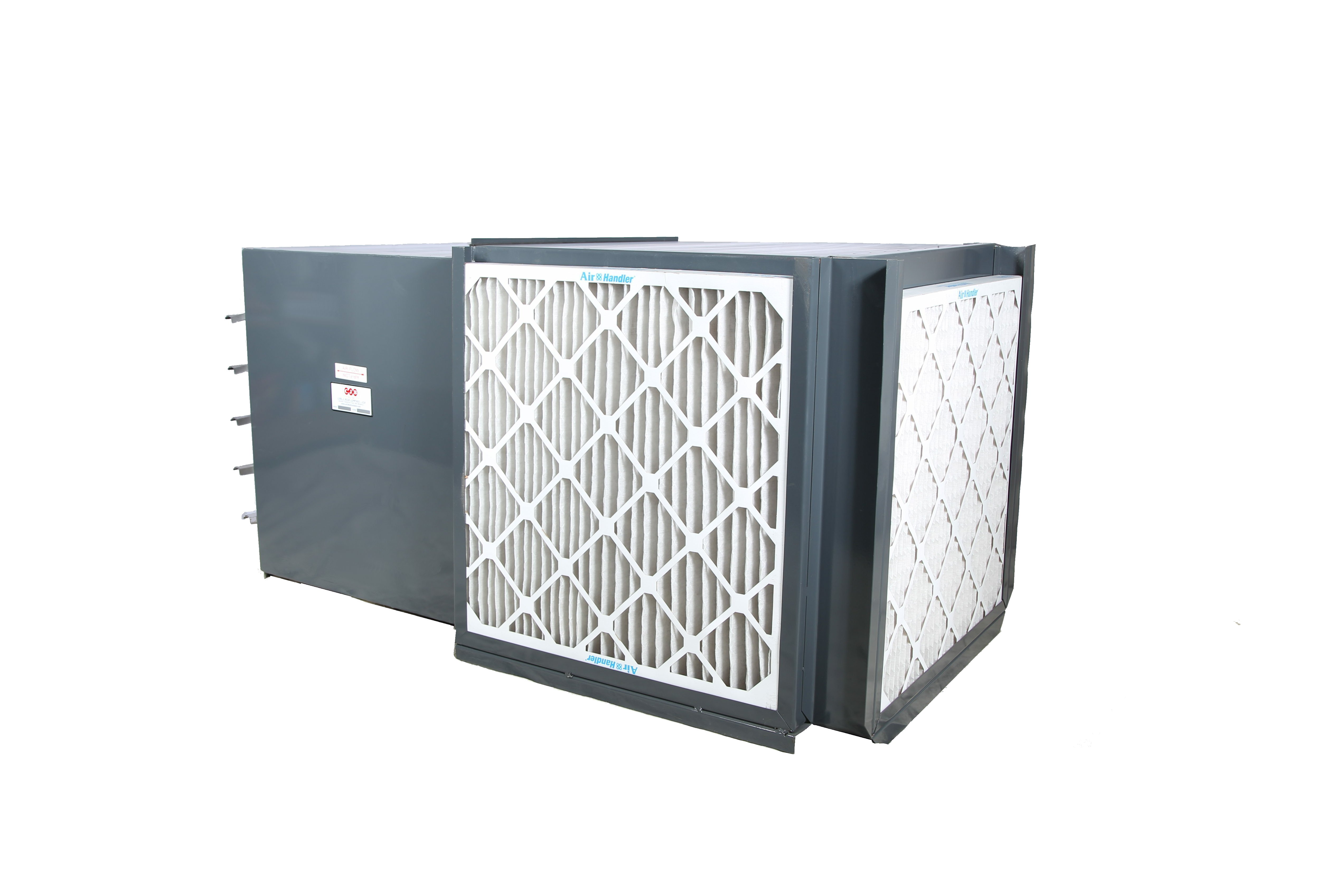 cube filtered wall exhaust paint booth fan carl j bush company