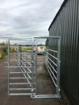 Cattle Handling System - Sliding Gate Open