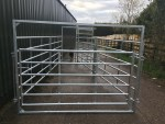 Cattle Handling System - End Gate Closed
