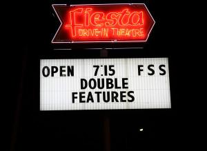 Fiesta Drive-In sign
