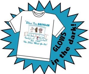 Blue Fox Drive-In T-shirt sale