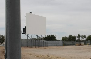 Fiesta Drive-In screen