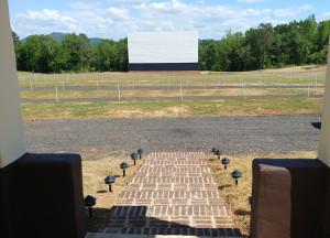 Hound's Drive-In screen