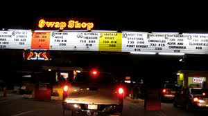 Wide entrance to Fort Lauderdale Swap Shop
