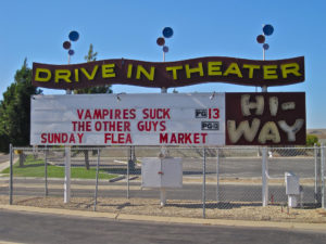 Hi-Way Drive-In marquee