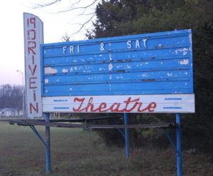 19 Drive-In marquee