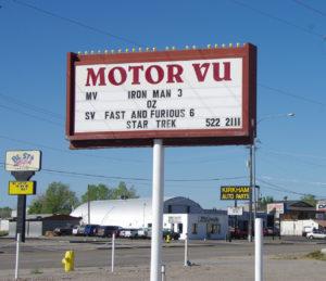 Motor Vu Drive-In marquee