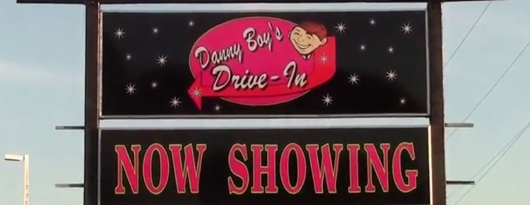 Danny Boy's Drive-In sign