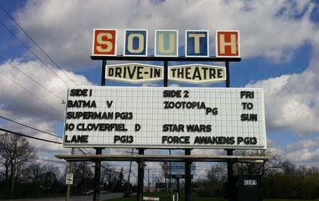 South Drive-In marquee