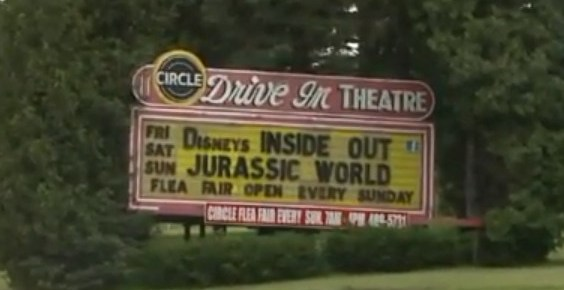 Circle Drive-In marquee