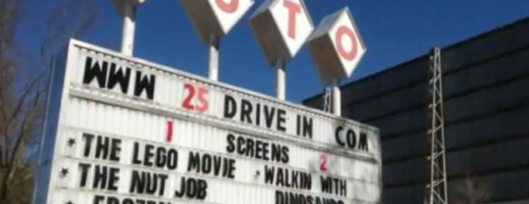 Auto 25 Drive-In marquee
