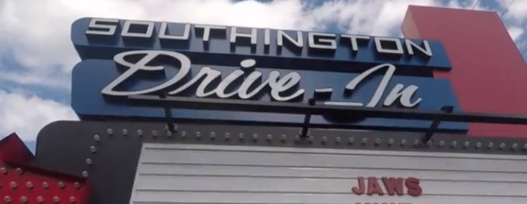 Southington Drive-In marquee