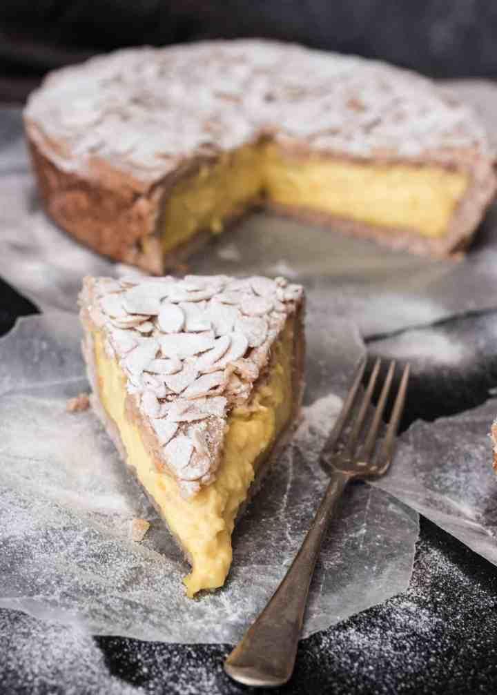 Puddingcreme Kuchen (Torta della Nonna)
