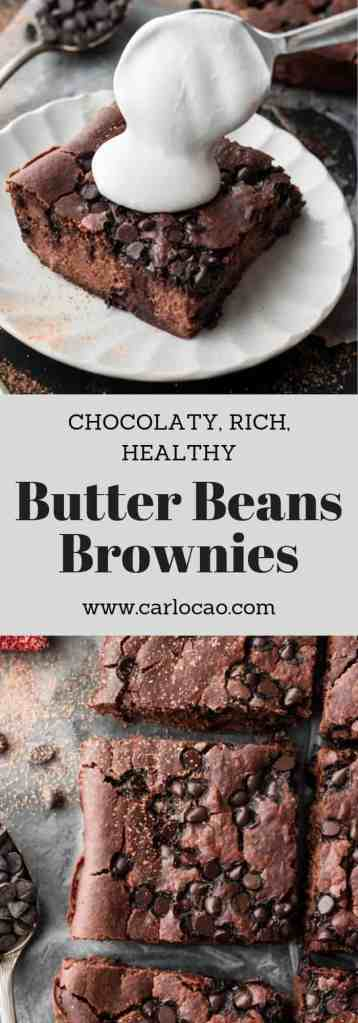 Butter Beans Brownies