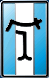DeTomaso car logo
