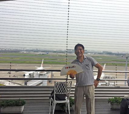 2018年5月31日 羽田空港
