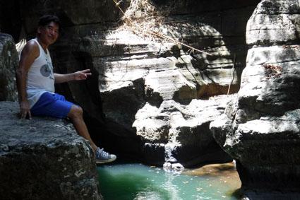 Cunca Wulang Canyon and Waterfall