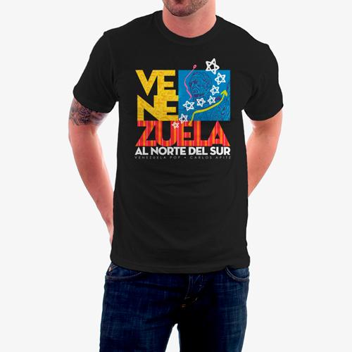 venezuela flag black