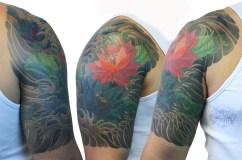 lotus blumen tattoo carlos aus tokio