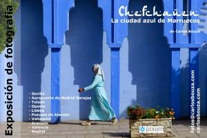 """Exposición """"Chefchauen, la ciudad azul de Marruecos"""""""