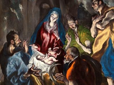 El Greco, A Adoração dos Magos (1600)
