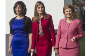 Presidente, letícia e Ma. Cavaco Silva